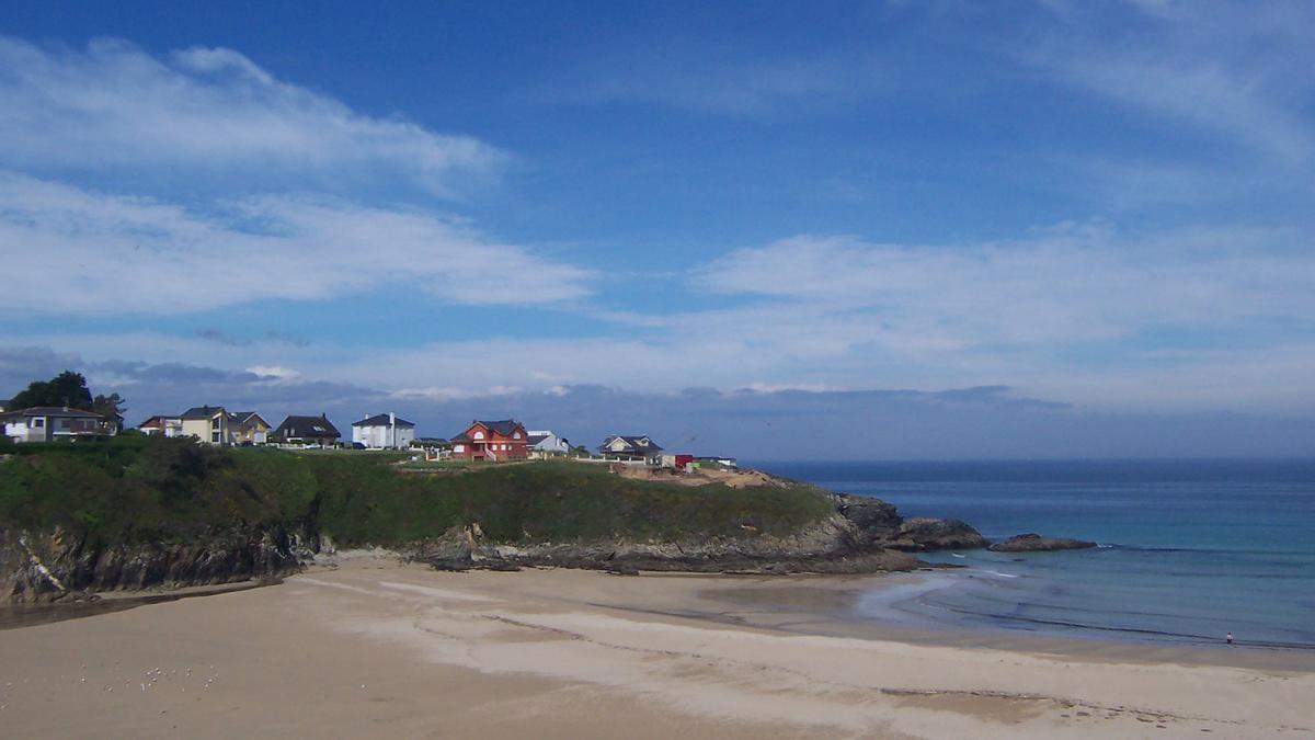 Playa Anguileiro, en Tapia de Casariego.