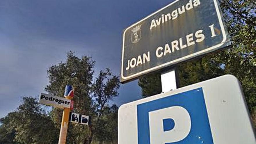 """Pedreguer elige """"País Valencià"""" para rebautizar la avenida retirada al rey emérito"""
