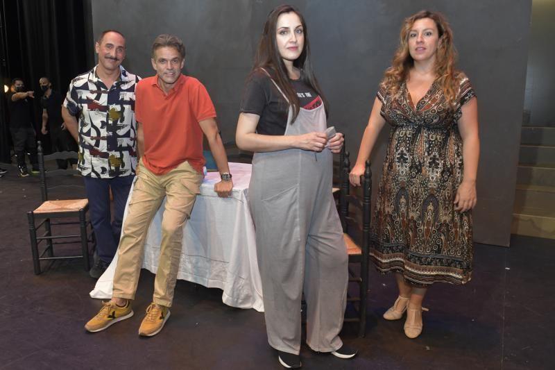 Ensayos de la zarzuela 'Luisa Fernanda'