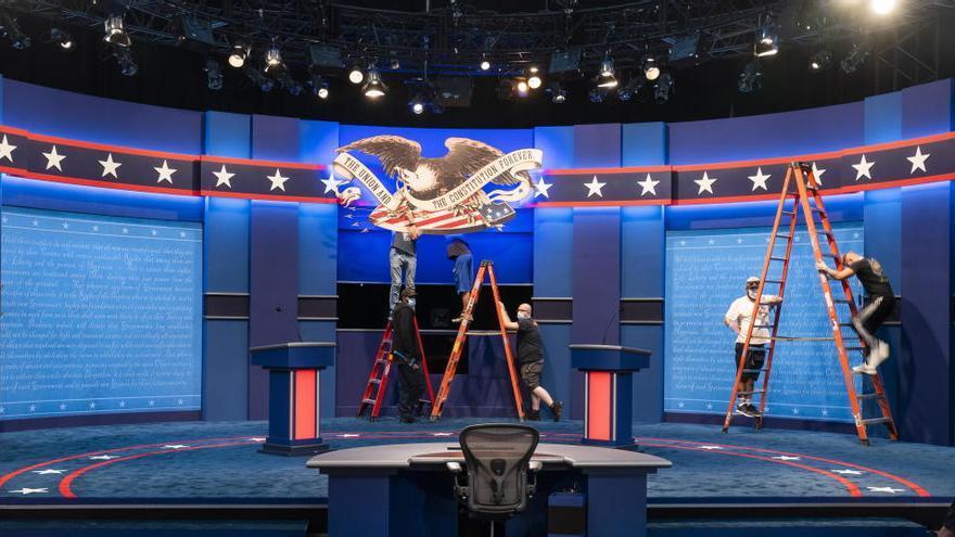 Trump y Biden se preparan para su primer debate presidencial en Cleveland