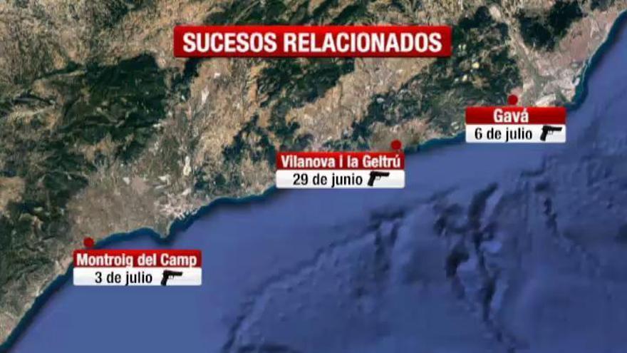 El atacante de Gavà, posible autor de otros dos tiroteos