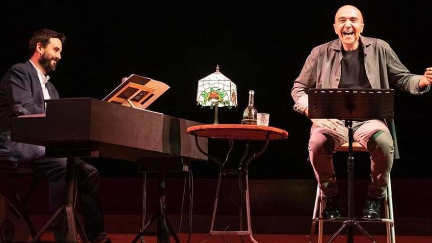 L'espectacle intimista «Llach Poeta» es veurà aquest diumenge a La Verbena