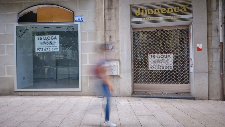 JxF proposa bonificar el 95% de l'IBI dels locals comercials buits que es lloguin