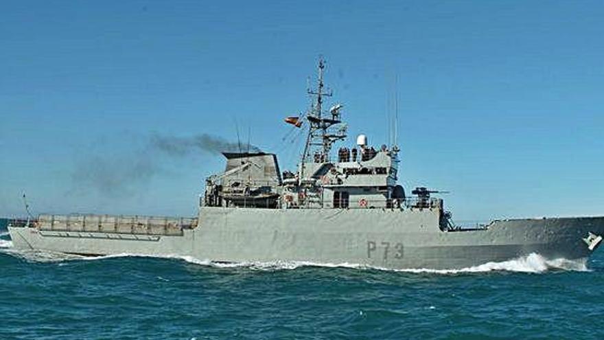 El patruller «Vigía» de l'Armada fa escala a Roses i obre les portes al públic