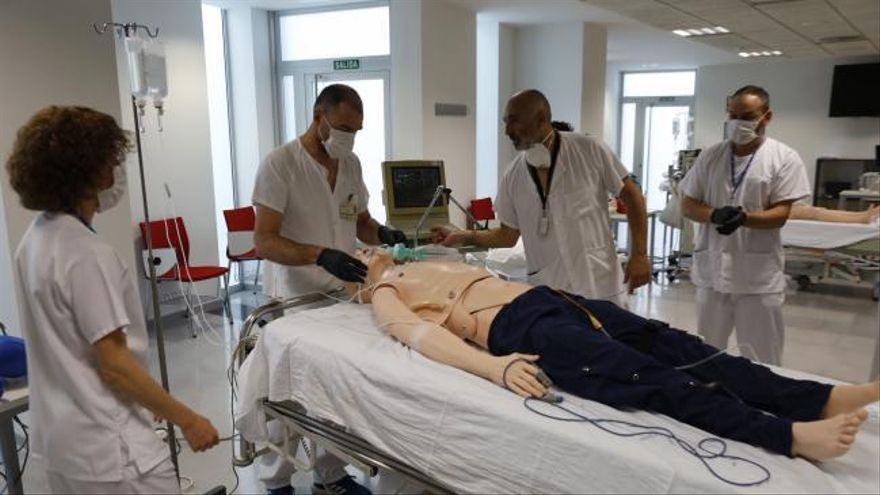 Las nuevas técnicas de los hospitales valencianos para los pacientes graves