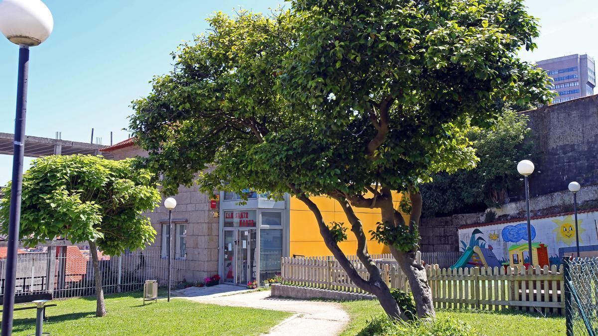 La Escuela Infantil Santa Marta. // Marta G. Brea