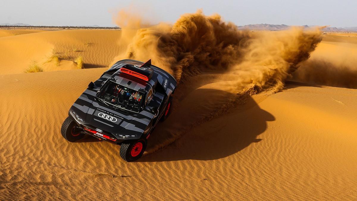 El reto más difícil de Audi es ganar el Dakar con un coche eléctrico