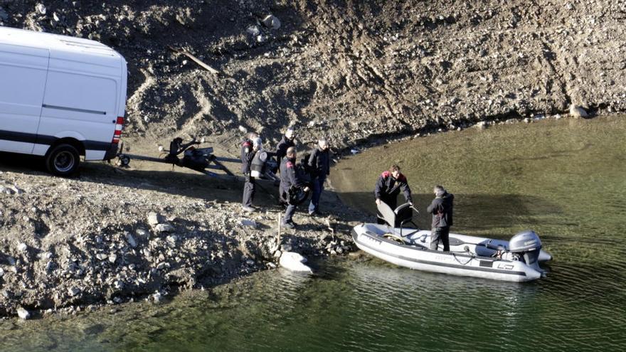 Els Mossos disparen trets a Susqueda per acotar l'escena del doble crim