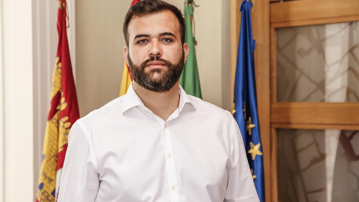 Luis Salaya, alcalde de Cáceres.
