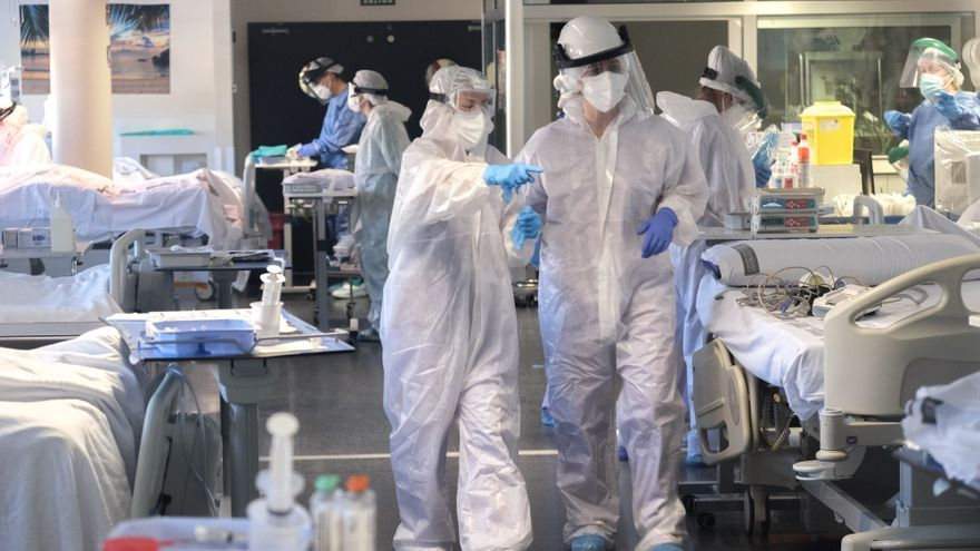 Los ingresos por coronavirus se estabilizan en el Hospital de Elda tras una semana de 30 pacientes nuevos al día