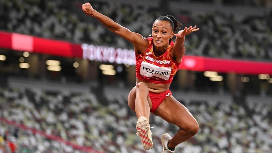 Ana Peleteiro conquista el bronce en triple salto para España
