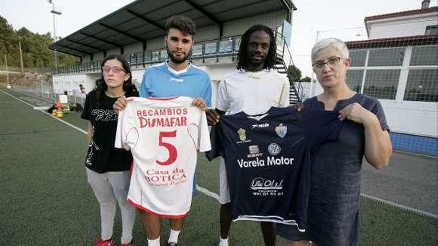 El Estudiantil ficha a Xenxo Goldar, Adrián Falcón y Mamadou Kanté