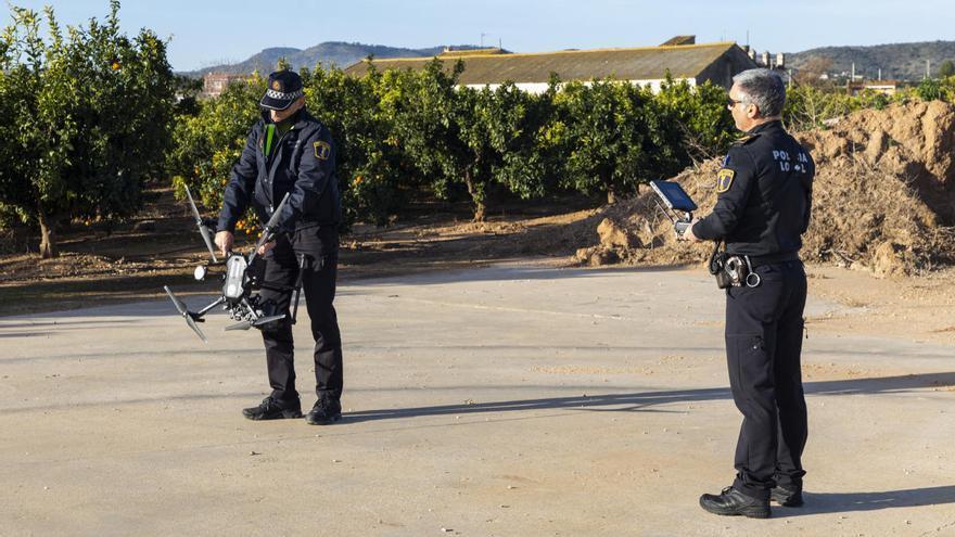 Picassent adquiere otro dron para reforzar la vigilancia