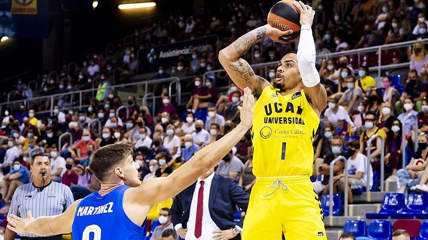 El UCAM, el equipo que más puntos y triples anota