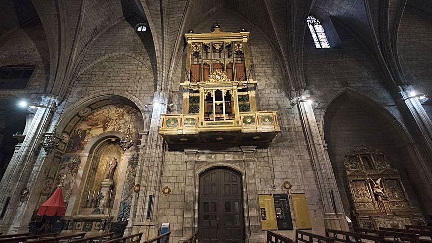 Avui s'engega l'exposició i la subhasta d'art per la restauració de l'orgue de Solsona