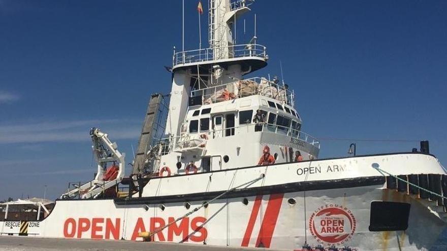 L'Open Arms després de l'ordre del jutge d'alliberar el vaixell: «Tornarem al mar»