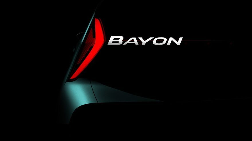 Hyundai Bayon, así se llamará el nuevo SUV de la firma coreana