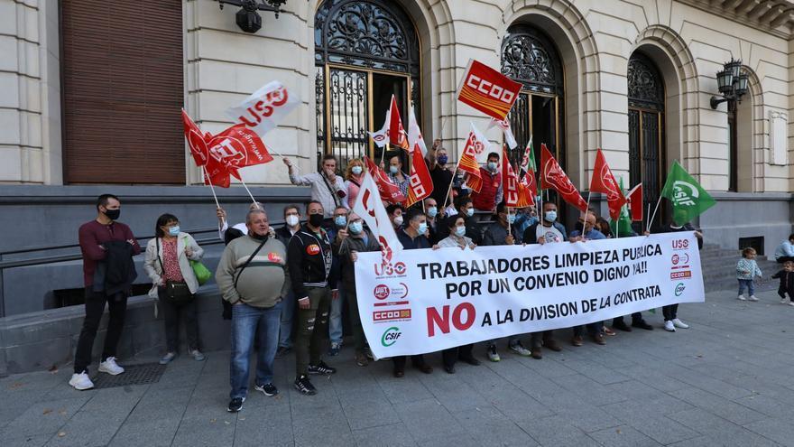 FOTOGALERÍA   Tarde de protestas en Zaragoza