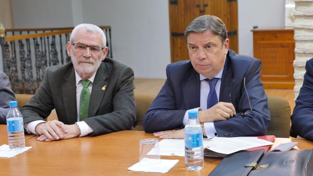 Visita del ministro de Agricultura a Alboraia.