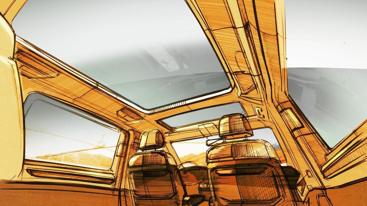 Interior del Volkswagen Vehículos Comerciales.