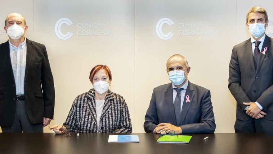 Clínica Corachan i la Universitat Autònoma de Barcelona firmen un acord de col·laboració