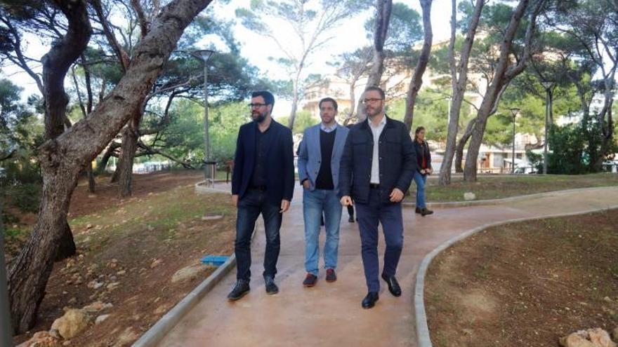 Neuer Park an der Playa de Palma eröffnet