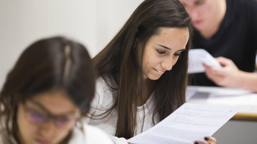 Así son los exámenes de la PAU 2020 en Valencia