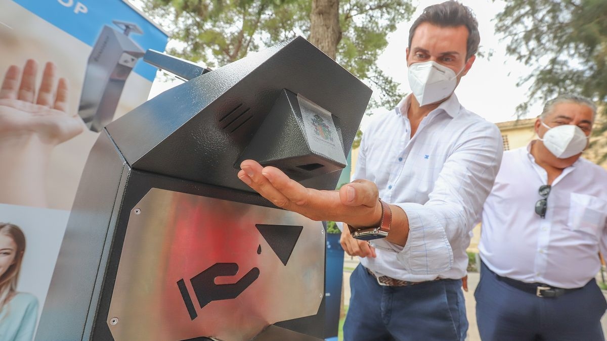 Hydroalcoholic gel dispensers to be installed in Orihuela
