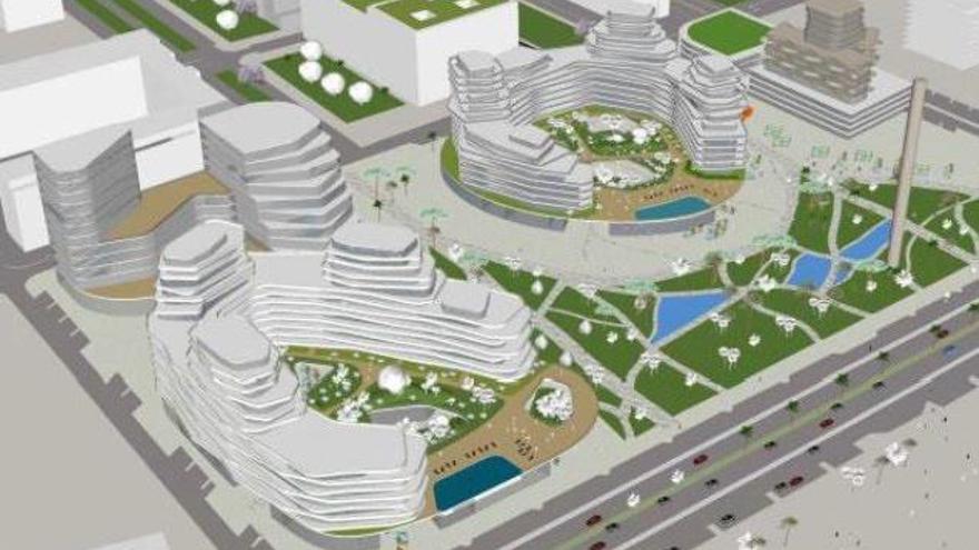 Málaga aprueba este viernes el proyecto de La Térmica, que baja su altura