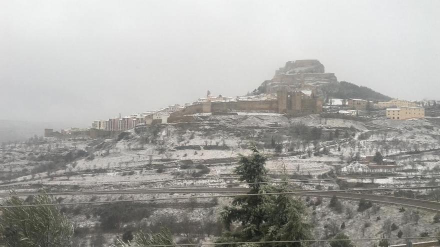 El tiempo en València hoy: llega la nieve a la Comunitat Valenciana