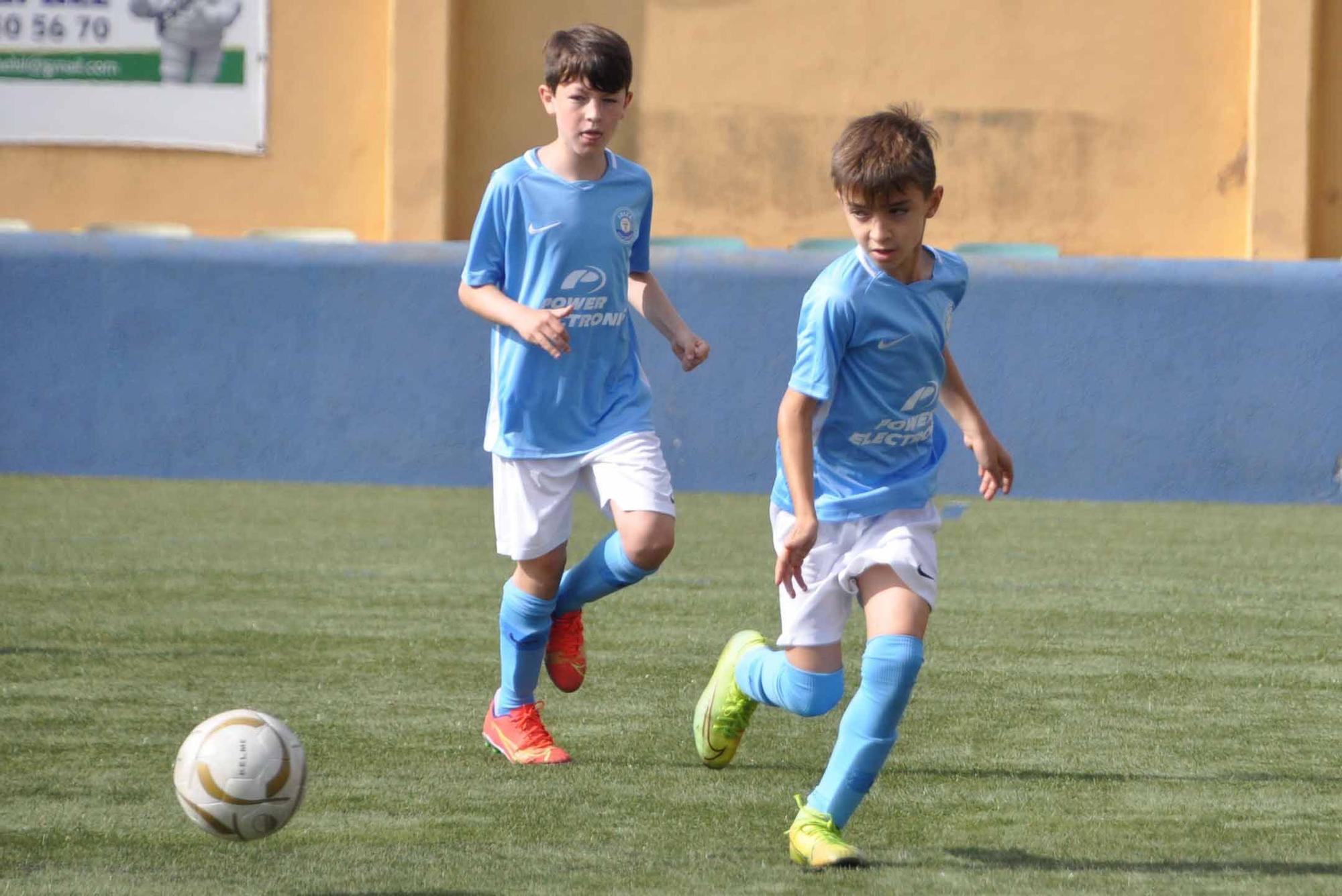 Todas las fotos de la última jornada de fútbol base en Ibiza (8 y 9 de mayo)