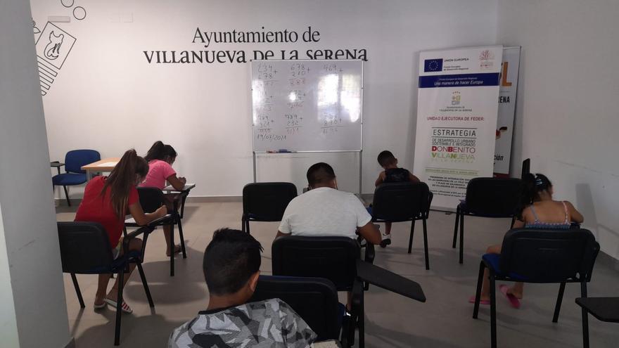 Acciones socioeducativas con 70 familias de Villanueva