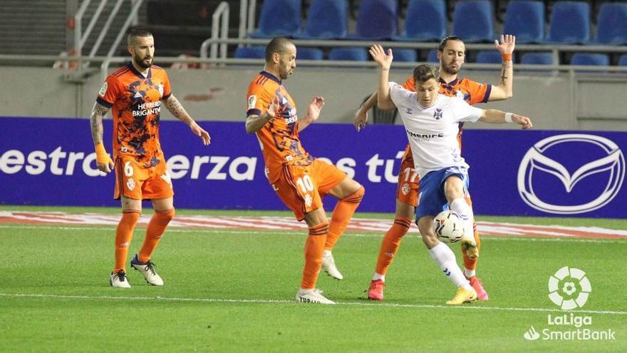 Germán Valera le da los tres puntos al Tenerife