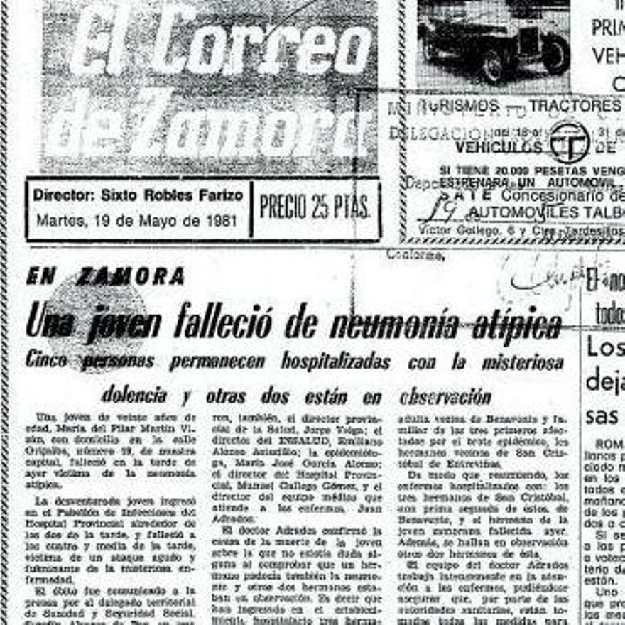Noticia de la muerte de la hermana de Toñi Martín