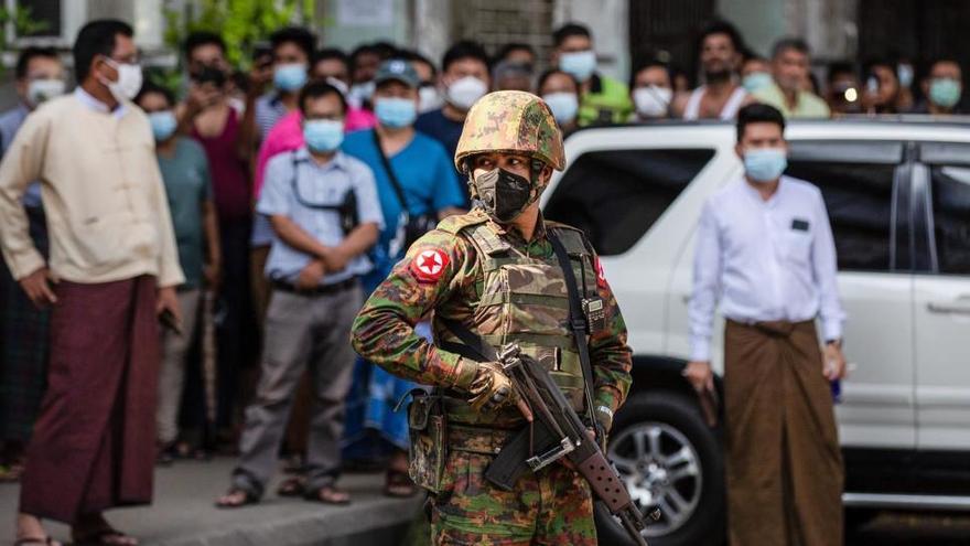 """EEUU cataloga de """"golpe"""" lo ocurrido en Birmania y reducirá la ayuda"""