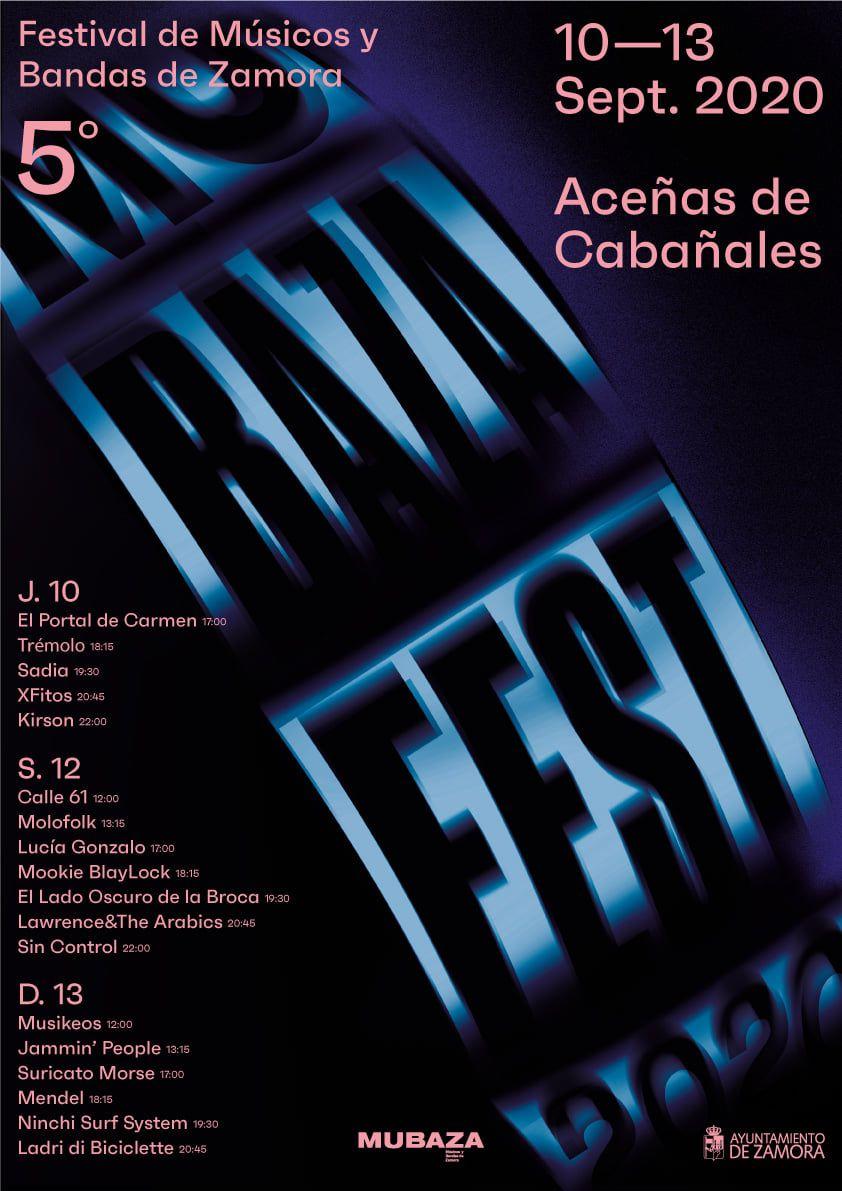 Programación de Mubaza Fest.
