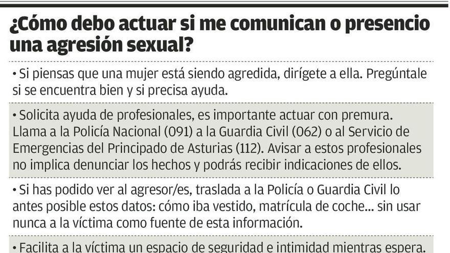 """El """"lado oscuro"""" de las fiestas en Asturias: cinco agresiones sexuales el pasado año"""