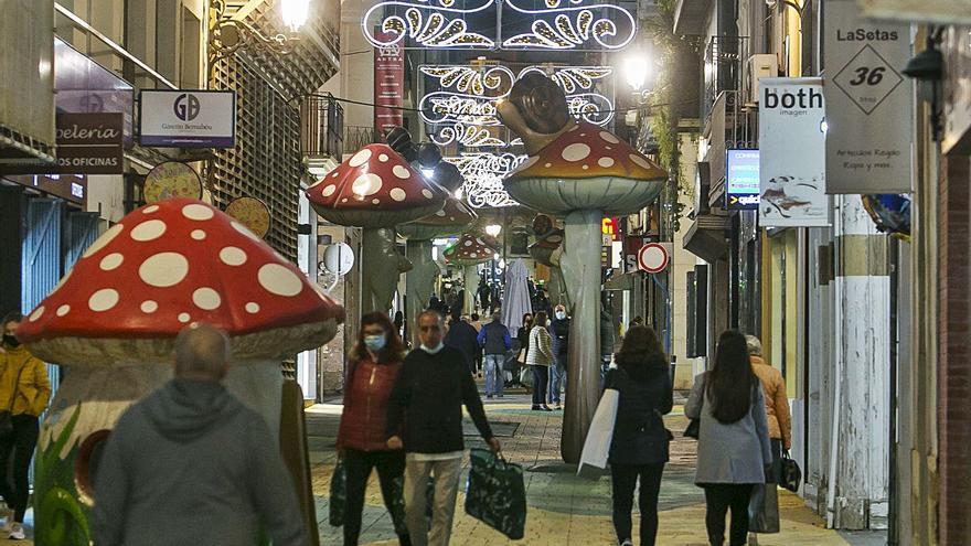 El negocio en comercio y hostelería crece un 10% tras el encendido navideño