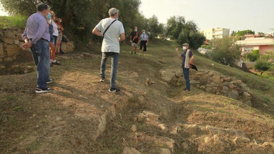 Blanes exhaureix entrades per la visita guiada al jaciment romà d'Els Padrets