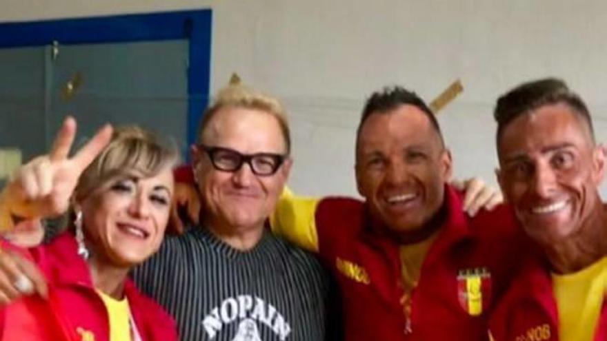Los murcianos Pedro Villa, Chari Guillén y Antonio Hernández, al Mundial 2018