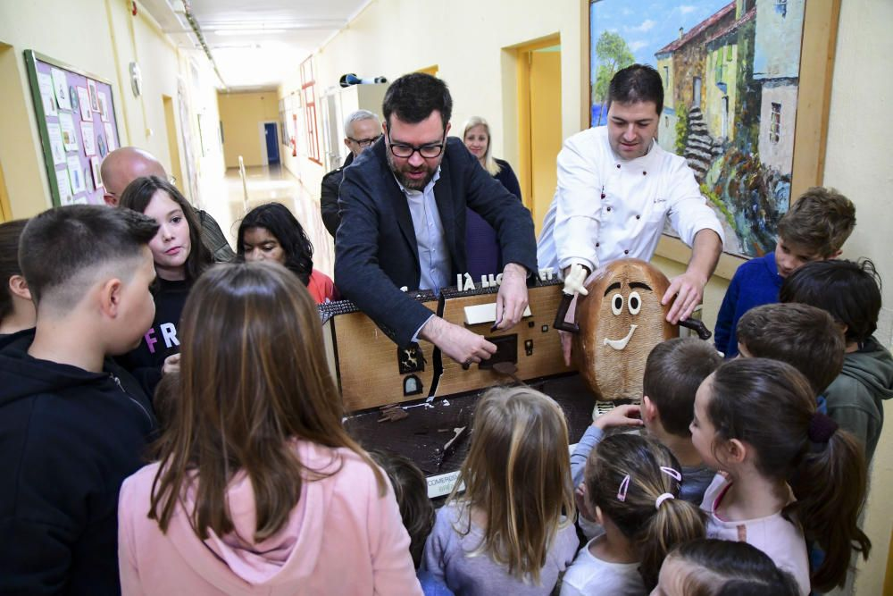 El CEIP de Establiments se come su mona de Pascua