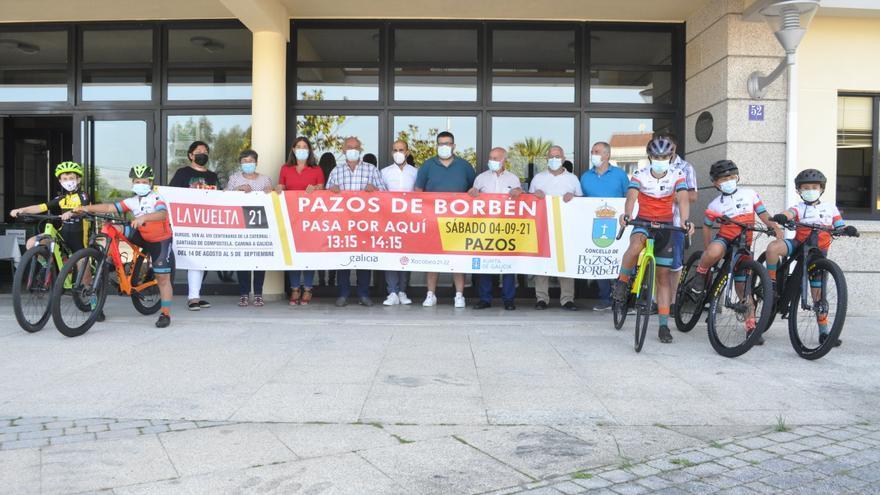 La Vuelta Ciclista recorrerá cinco de las ocho parroquias de Pazos de Borbén