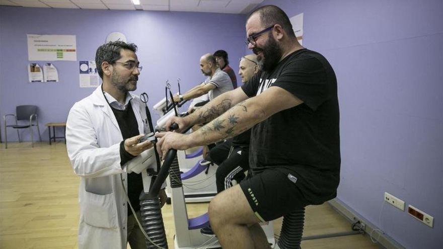 Rehabilitación cardiaca: aprender a comer bien es lo más difícil