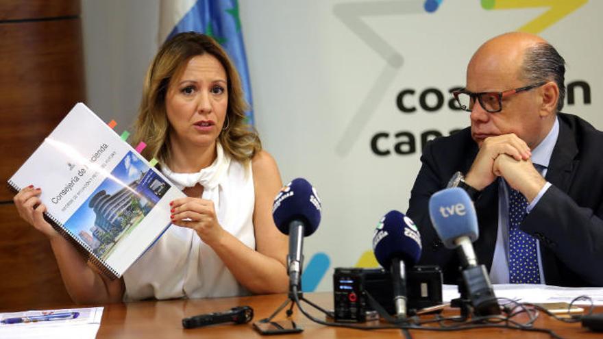 CC critica que el nuevo Ejecutivo recorte a los canarios para no exigir a Madrid
