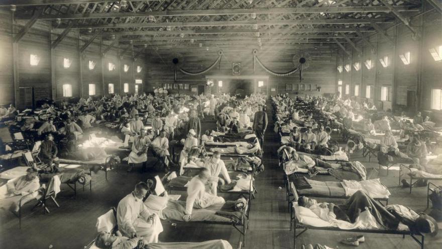 Memoria de la gripe que fue española sin serlo