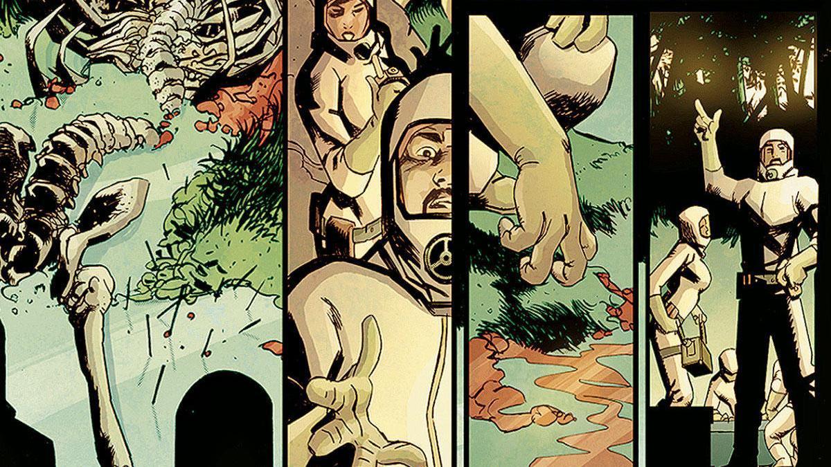 Ein Comic des ehemaligen Schülers Guillermo Sanna für Marvel.