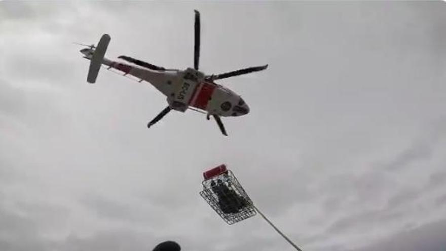 Hubschrauber bringt Notfallpatienten von Mallorca-Fähre ins Krankenhaus