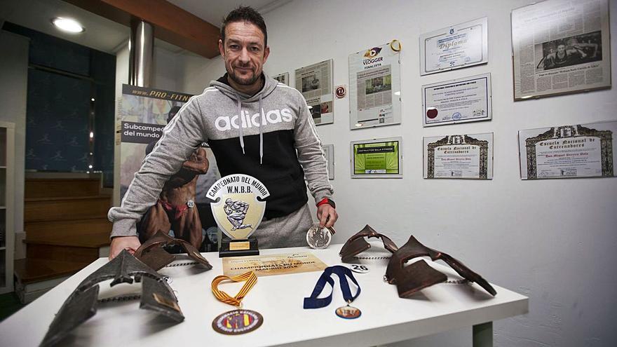 Miguel Pereira regresa a la competición