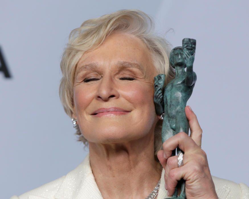 """Premios del Sindicato de Actores: Glenn Close, galardonada por """"The Wife"""""""