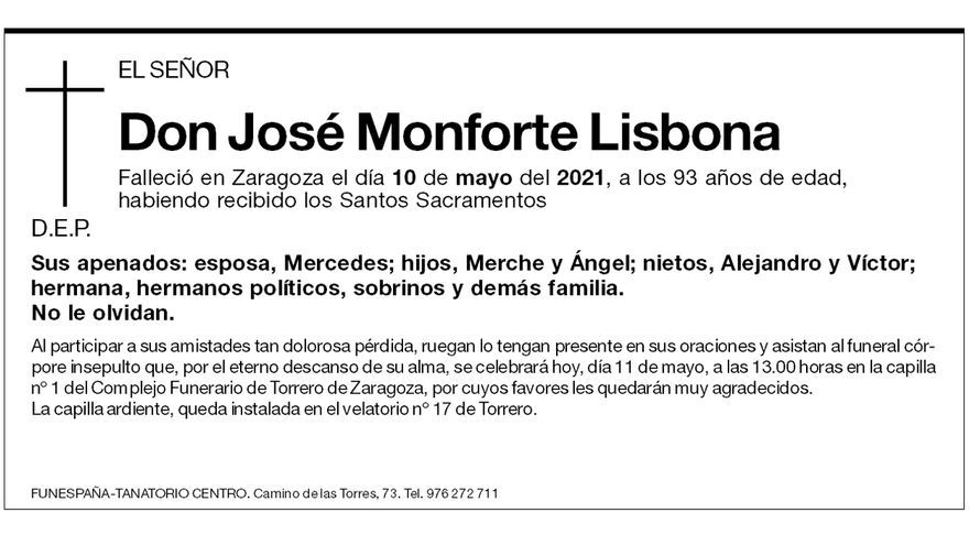 José Monforte Lisbona